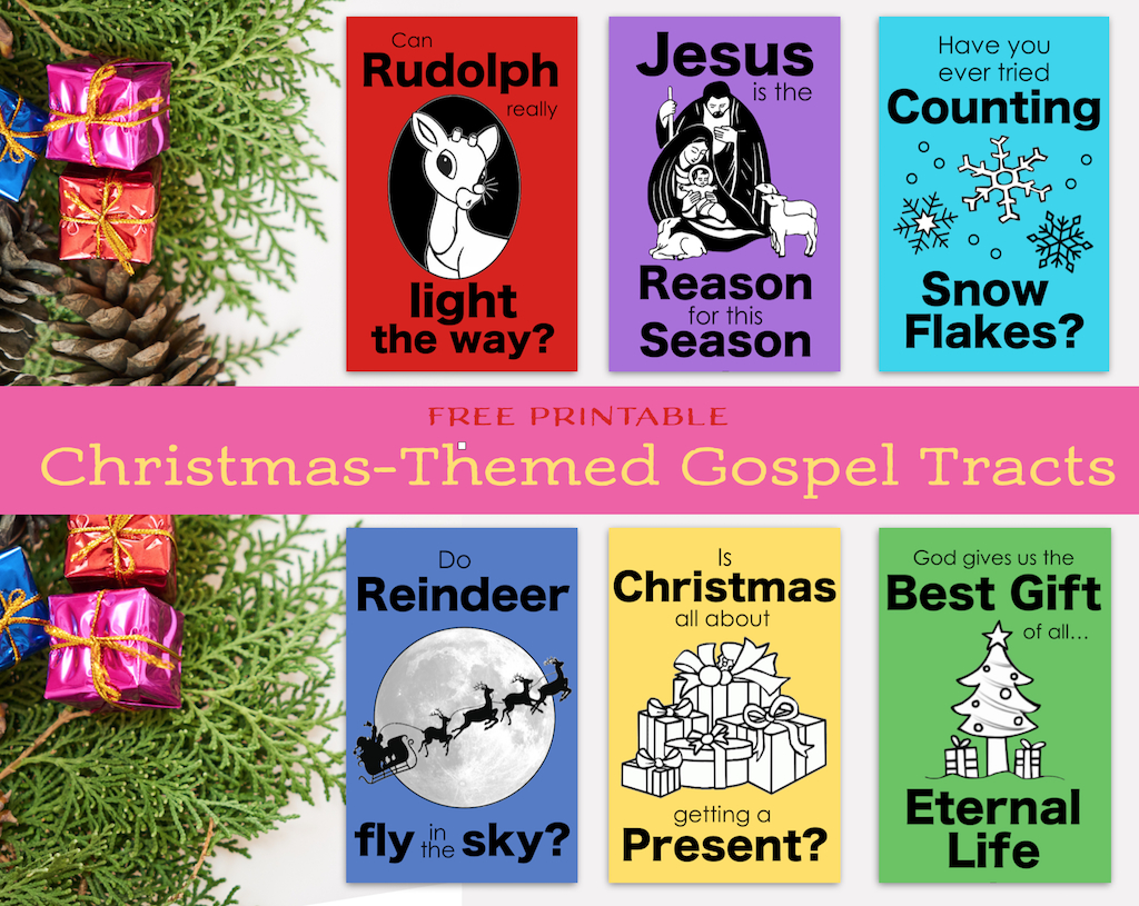 Christmas Gospel Tracts (Free Printables) - Flanders Family Homelife - Free Printable Gospel Tracts For Children