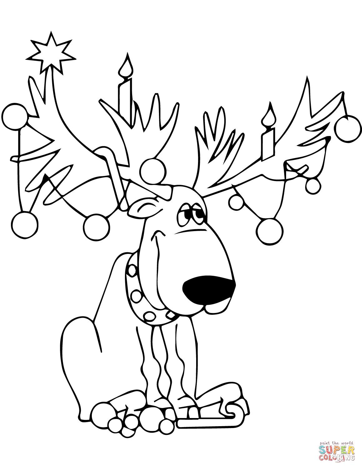 Christmas Lights Coloring Pages | Free Coloring Pages - Free Printable Christmas Lights Coloring Pages