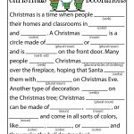 Christmas Mad Libs | Woo! Jr. Kids Activities   Free Printable Mad Libs For Middle School Students