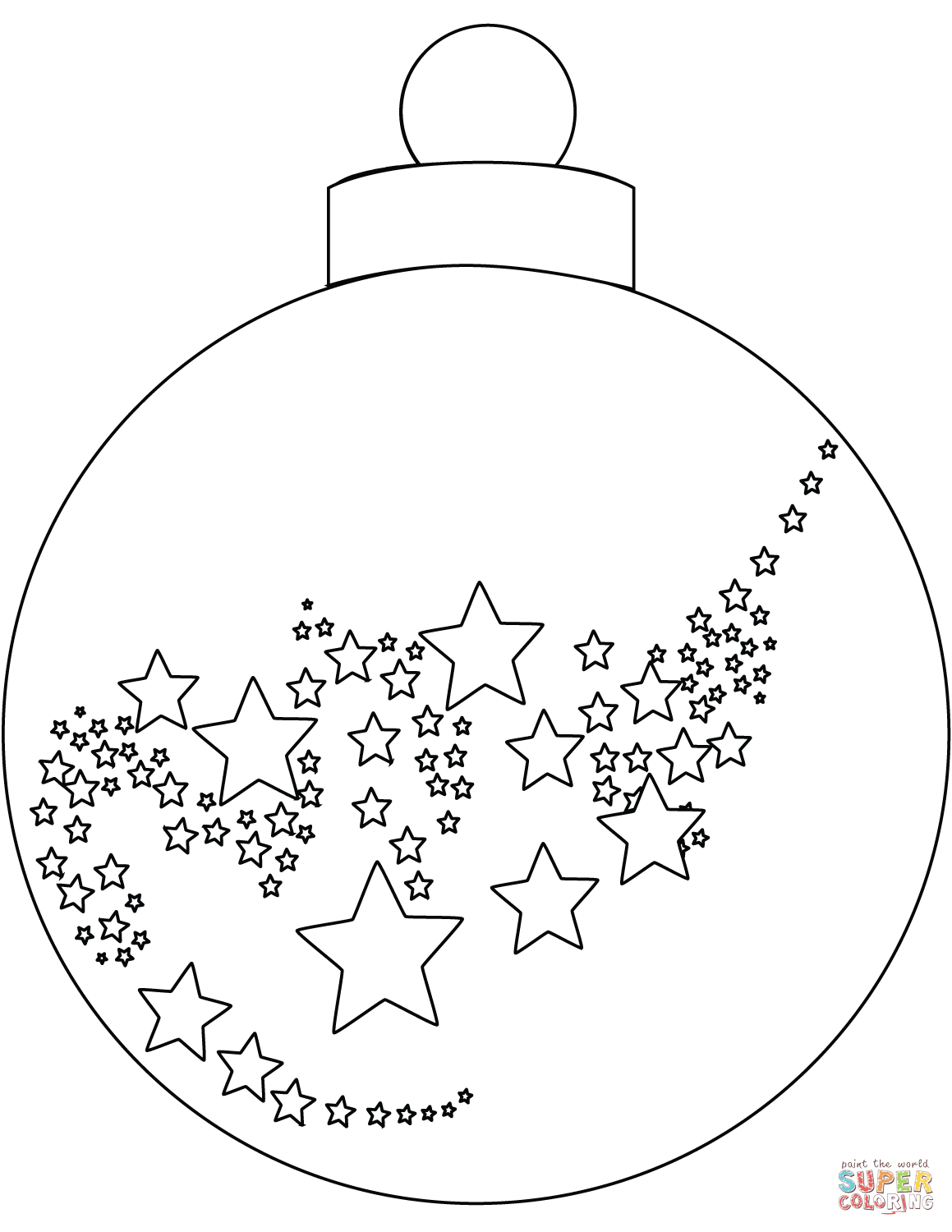 Christmas Ornament Coloring Page | Free Printable Coloring Pages - Free Printable Christmas Ornament Coloring Pages