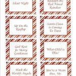 Christmas Songs Pictionary  Free Christmas Game   Free Printable Pictionary Cards