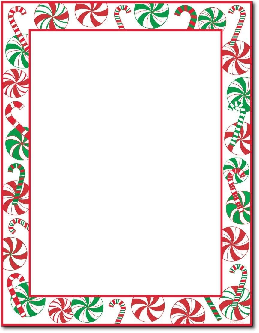 Christmas Stationary | Tubidportal - Free Printable Christmas Stationary