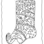 Christmas Stocking To Color Free Printable Christmas Coloring Pages   Free Printable Christmas Coloring Sheets