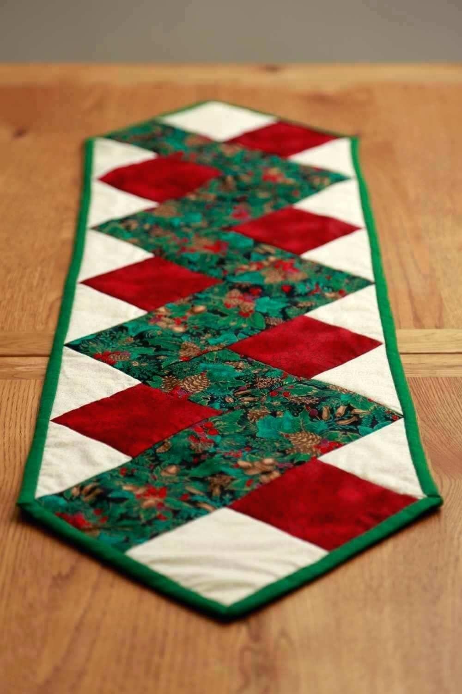 Christmas Table Runner Free Printable Quilt Patterns Uk Kits - Free Printable Placemat Patterns