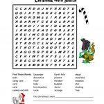 Christmas Wordsearch Worksheet   Free Esl Printable Worksheets Made   Christmas Find A Word Printable Free