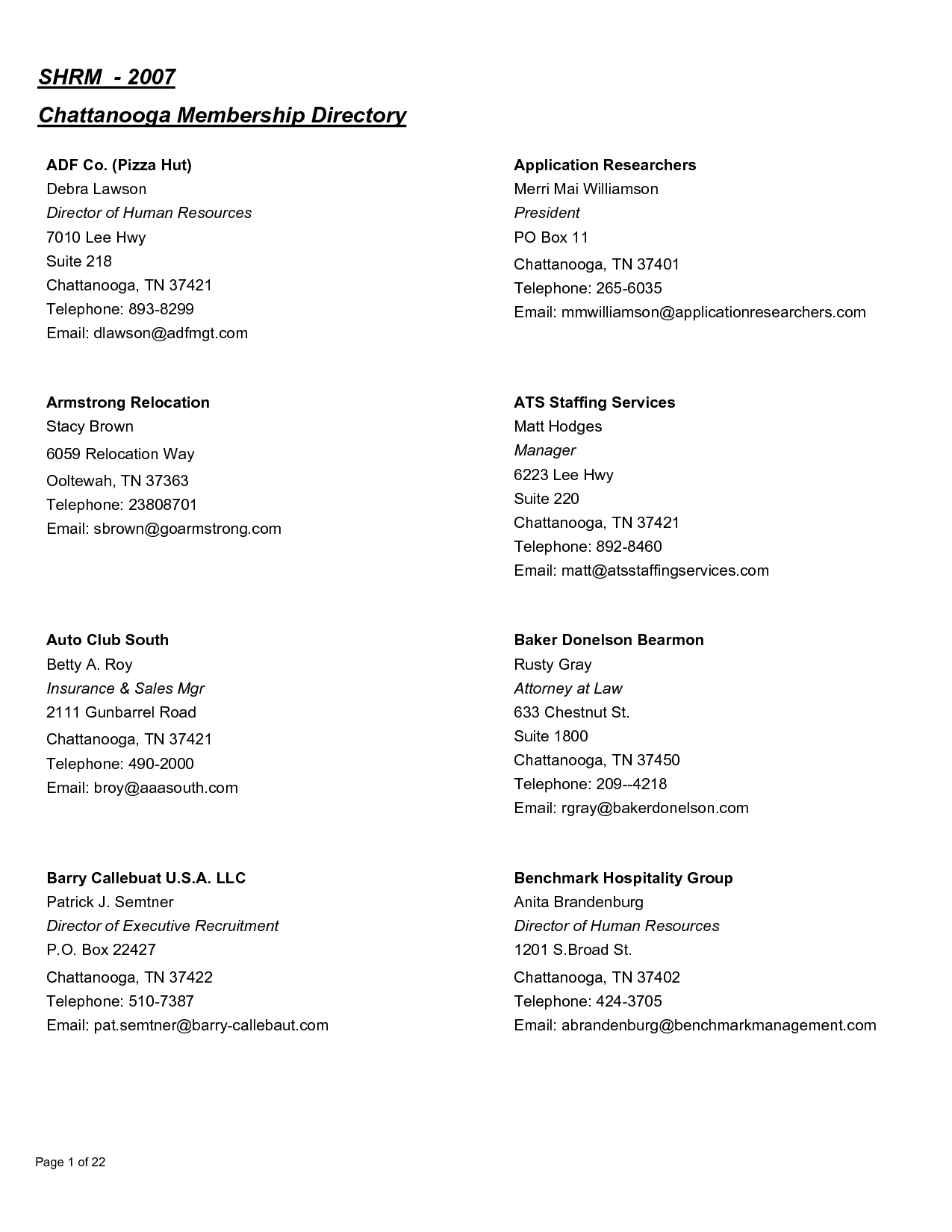 Church Directory Template | Doliquid - Free Printable Church Directory Template
