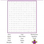 Church House Collection Blog: Christian Easter Word Search For Kids   Free Printable Religious Easter Word Searches