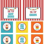 Circus Party | Free Printables | Free Printables | Circus Party   Free Printable Carnival Decorations