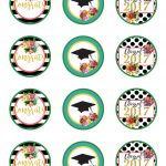 Class Of 2017 Free Floral Graduation Party Printables! | Party Ideas   Free Graduation Printables 2017