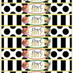 Class Of 2017 Free Floral Graduation Party Printables! | Veronica's   Free Graduation Printables 2017