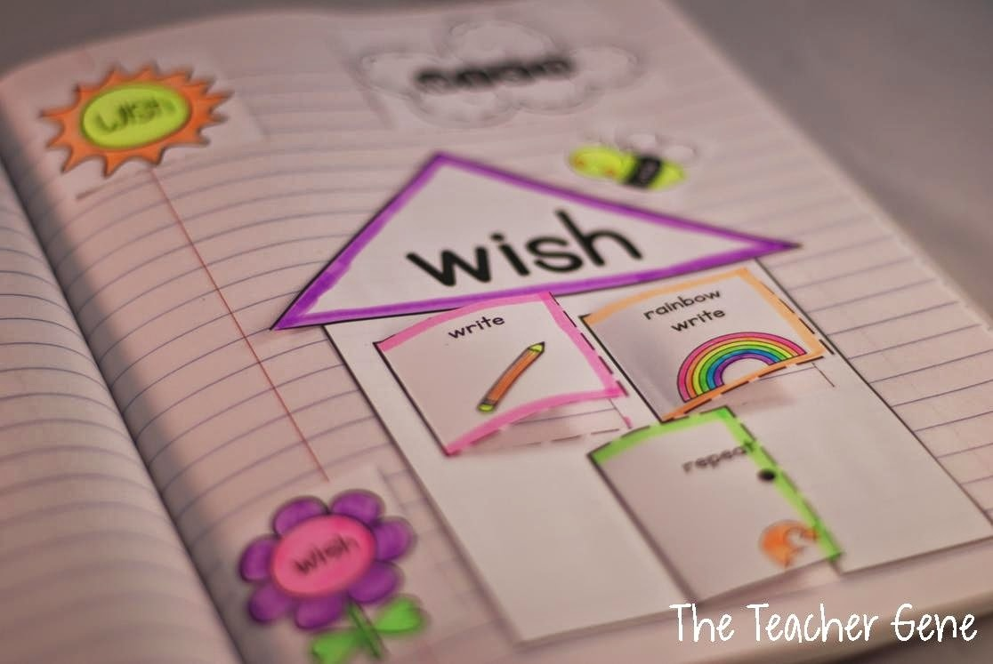 Classroom Freebies Too: Interactive Notebook Sight Word Freebie - Free Interactive Notebook Printables