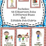 Classroom Jobs {Editable} | Back To School/september | Classroom   Classroom Helper Chart Free Printables
