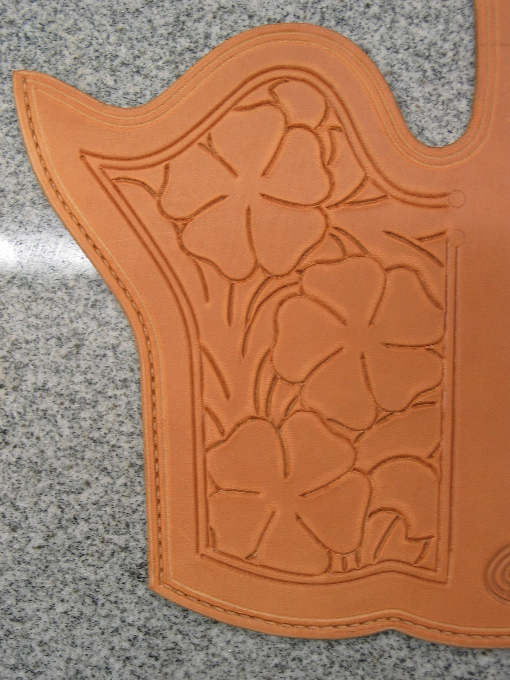"""Click Text For: Making """"hand Of God"""" Rig And Pattern - Free Printable Holster Patterns"""