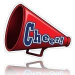Clip Art Cheerleader Free Printable | Cheerleader Clipart Megaphone   Free Printable Cheerleading Clipart