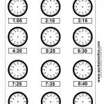 Clock Telling Time Worksheet Printable | Worksheetfun   Free   Free Printable Telling Time Worksheets
