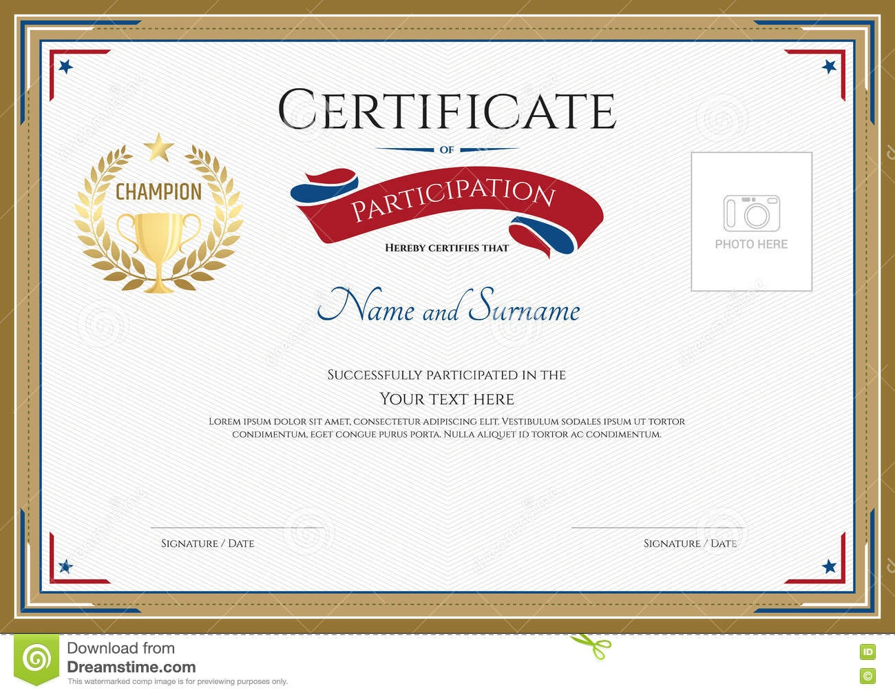 Collection Of Free Certificated Clipart Sport Certificate. Download - Sports Certificate Templates Free Printable