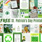 Collection Of Free St. Patrick's Day Printables (25+ Printables   Free St Patrick's Day Printables