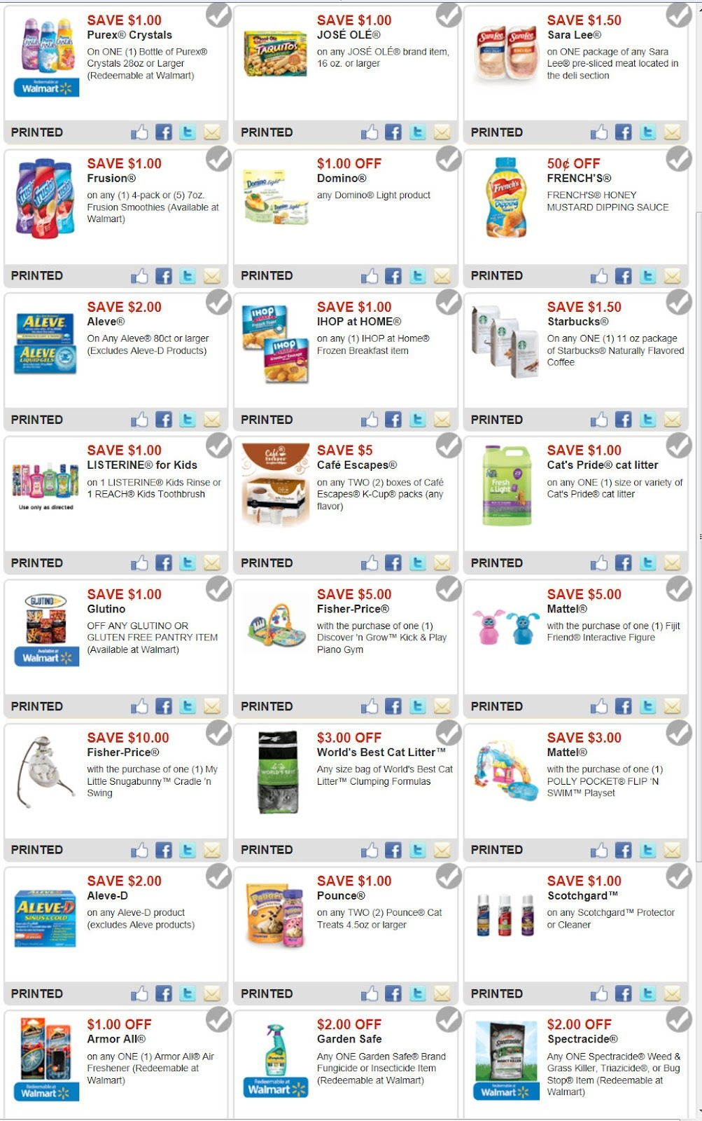 Collection Of Printable Coupons For Walmart (32+ Images In Collection) - Free Printable Coupons For Walmart