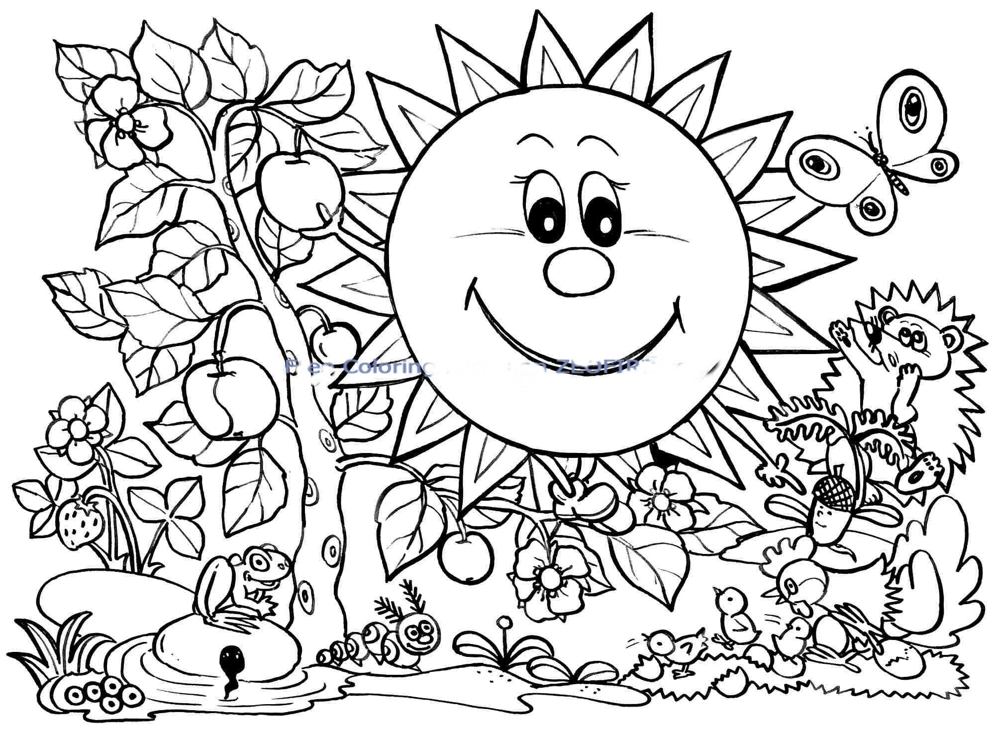 Coloring Book : Coloring Book Stunning Free Printable Spring Pages - Free Printable Spring Pictures To Color