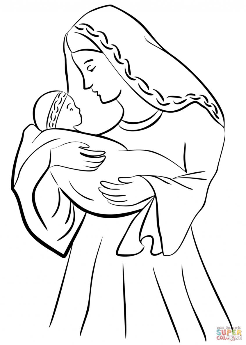 Coloring Book World ~ Free Printable Jesus Coloring Pages For Kids - Free Printable Jesus Coloring Pages