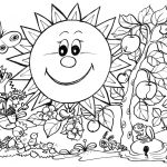 Coloring Ideas : Cute Spring Coloring Pages Unique Free Printable   Free Printable Spring Coloring Pages