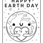Coloring Ideas : Earth Day Printable Coloring Pages Amazing Free   Free Printable Earth Pictures