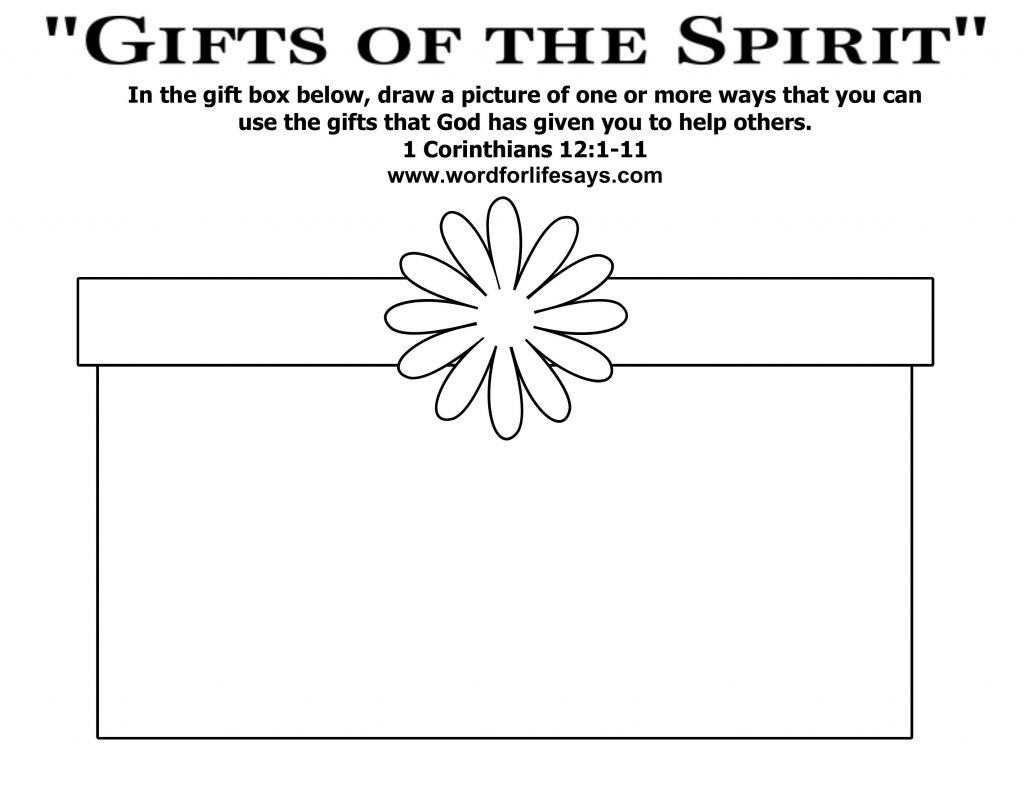 Coloring Ideas : Gifts From God Coloring Page Google Search Pages - Free Printable Spiritual Gifts Test For Youth