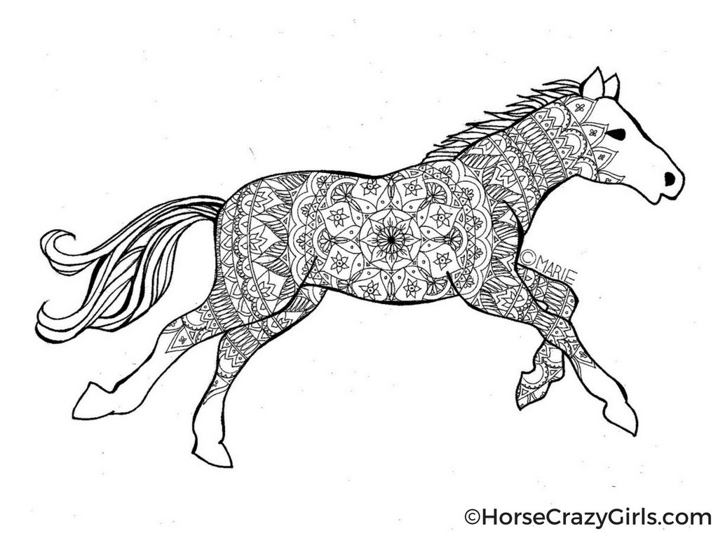 Coloring Ideas : Horse Coloring Pages And Printables Ideas Images - Free Horse Printables