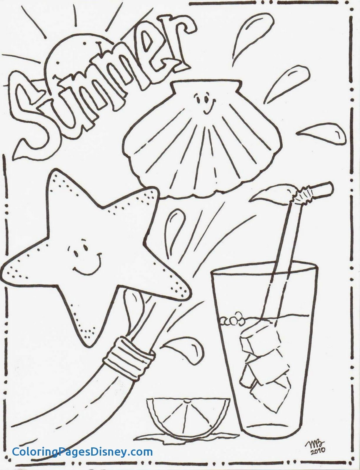 Coloring Ideas : Summer Coloring Pages Best Summertime Sheets Of - Free Printable Summer Coloring Pages