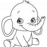 Coloring Page ~ Childrens Colouring Pages Print Elephant Learning   Free Printable Coloring Pages For Preschoolers
