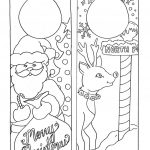 Coloring Page ~ Christmas Coloring Worksheets Kindergarten   Free Christmas Coloring Printables