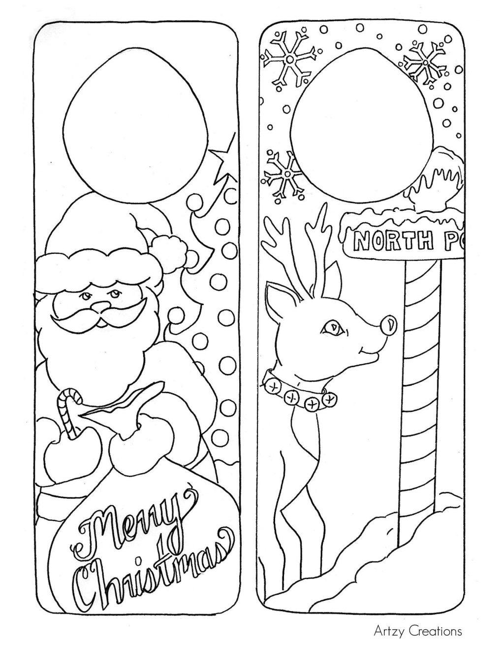 Coloring Page ~ Christmas Coloring Worksheets Kindergarten - Free Christmas Coloring Printables