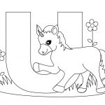 Coloring Page ~ Coloring Page Alphabet Pages Letter U Free Printable   Free Printable Letter U Coloring Pages
