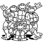 Coloring Page ~ Free Coloring Pages For Teens Teenage Mutant Ninja   Teenage Mutant Ninja Turtles Printables Free
