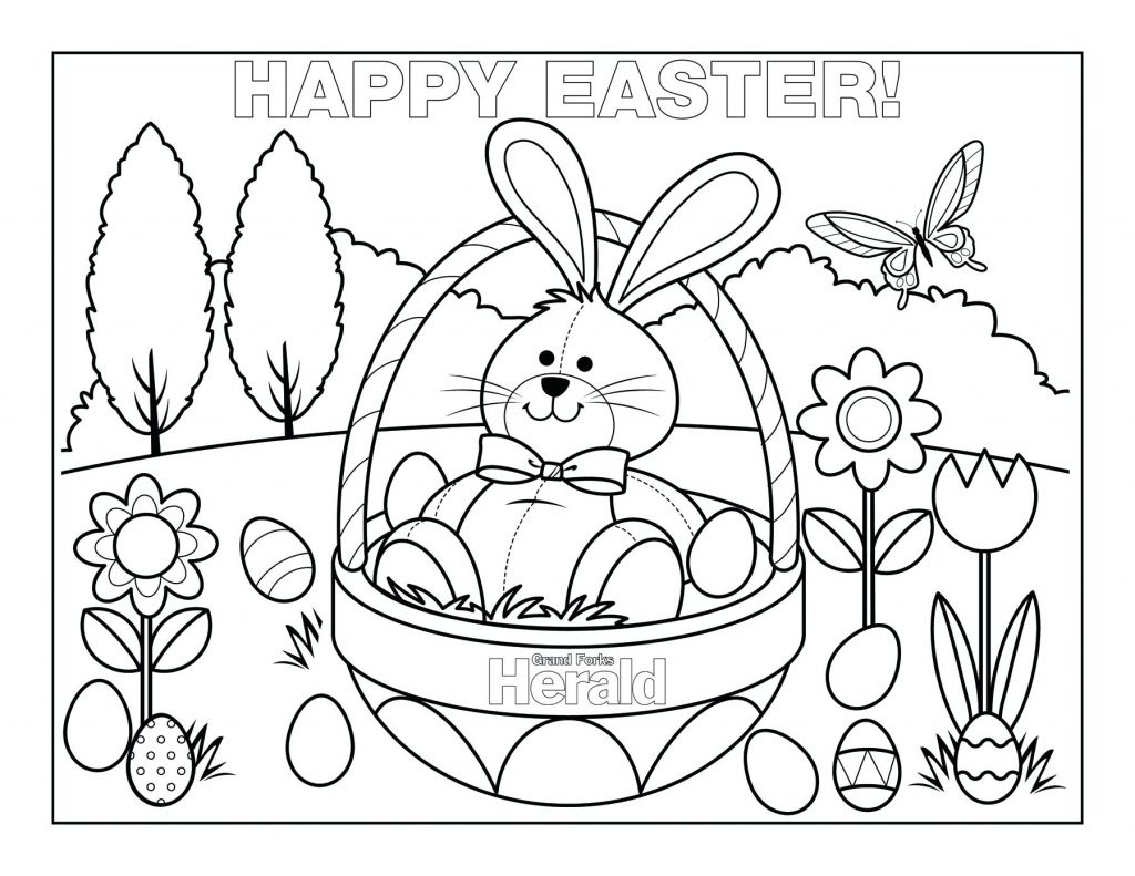 Coloring Page ~ Free Easter Coloring Pages Happiness Is Homemade And - Free Printable Easter Coloring Pages For Toddlers