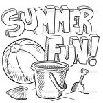 Coloring Page ~ Quality Free Printable Summer Coloring Pages   Free Printable Summer Coloring Pages