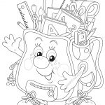 Coloring Pages Back To School Theme Clip | Coloring Pages   Free Printable First Day Of School Coloring Pages