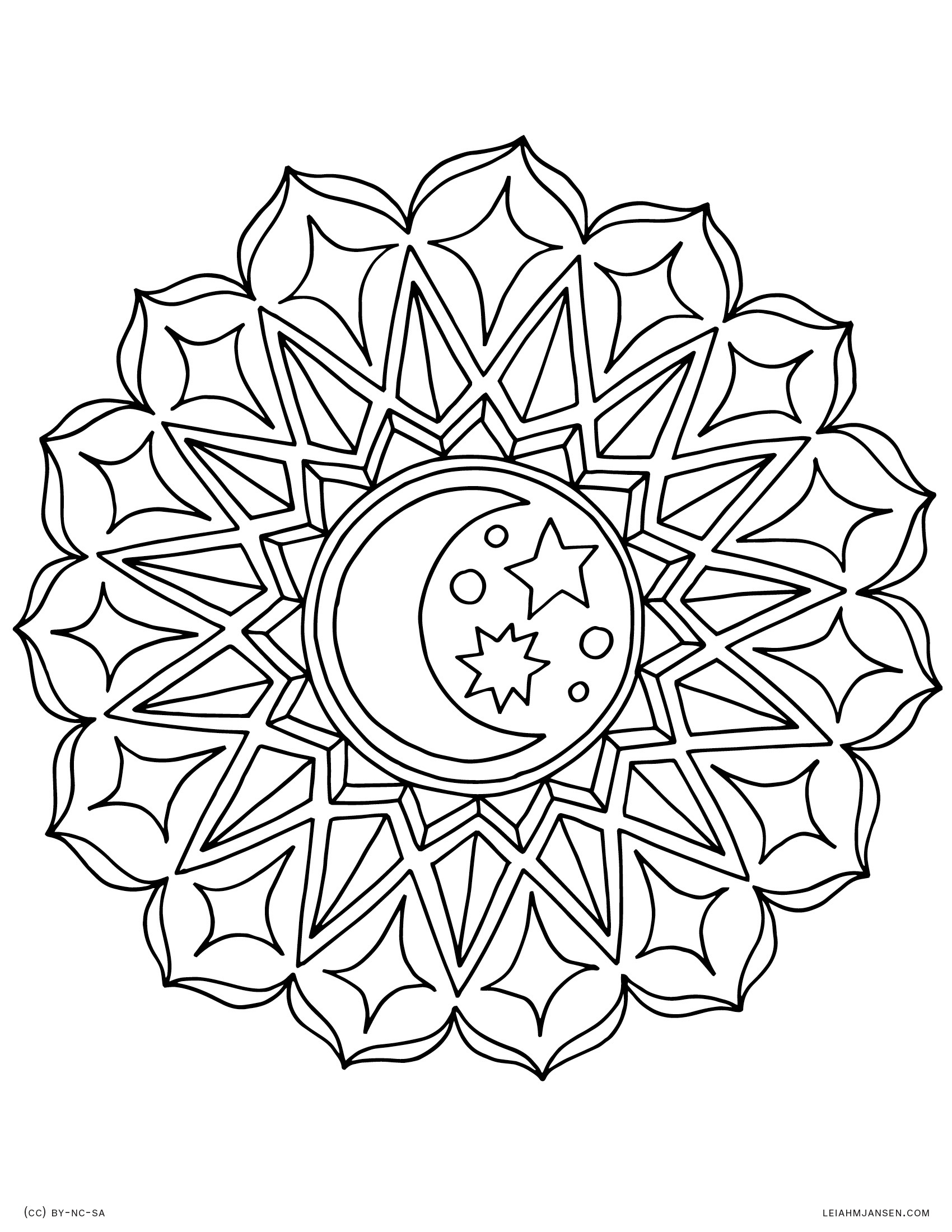 Coloring Pages - Free Printable Mandala Coloring Pages For Adults