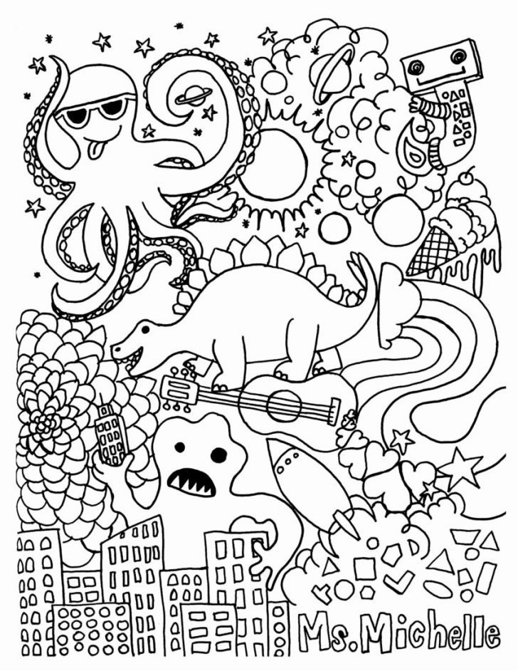 Free Coloring Pages Com Printable
