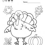 Coloring Pages Ideas: Coloring Worksheets For Kids Kindergarten   Free Printable Kindergarten Thanksgiving Activities