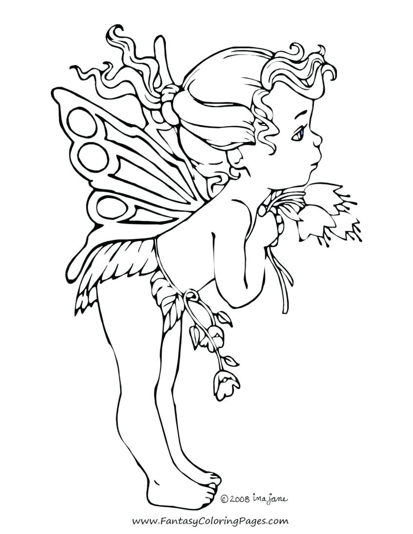 Coloring Pages Ideas: Fairy Coloringook For Adultsooks Drawings To - Free Printable Coloring Pages Fairies Adults