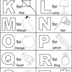 Coloring Pages Ideas: Free Number Coloring Sheets Printable Alphabet   Free Printable Preschool Alphabet Coloring Pages