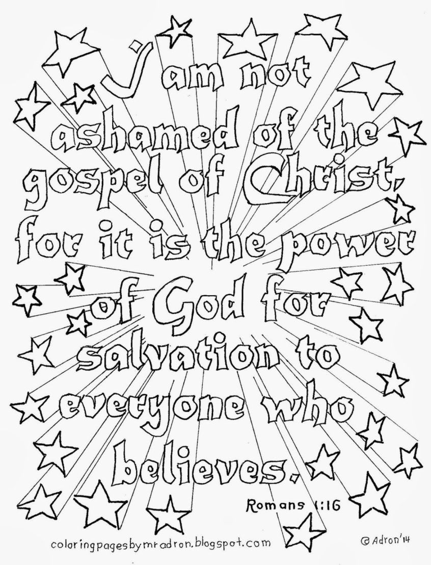 Coloring Pages Ideas: Free Printable Bible Coloring Pages With - Free Printable Bible Coloring Pages With Verses
