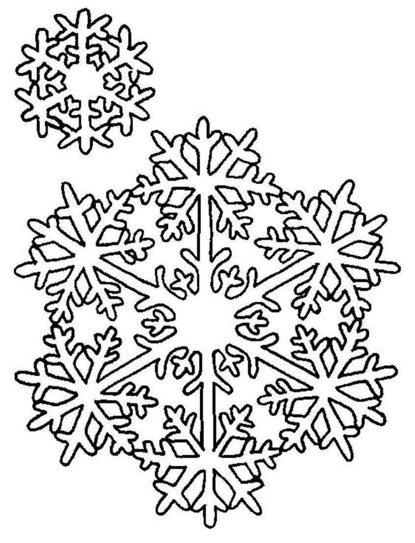 Coloring Pages Ideas: Snowflake Coloring Sheet Snowflakes Pages - Free Snowflake Printable Coloring Pages