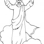 Coloring Pages Of Jesus Free Printable Jesus Coloring Pages For Kids   Free Printable Jesus Coloring Pages