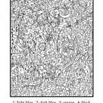 Coloring Pages: Printable Colornumber For Adults Free Coloring   Free Printable Color By Number For Adults