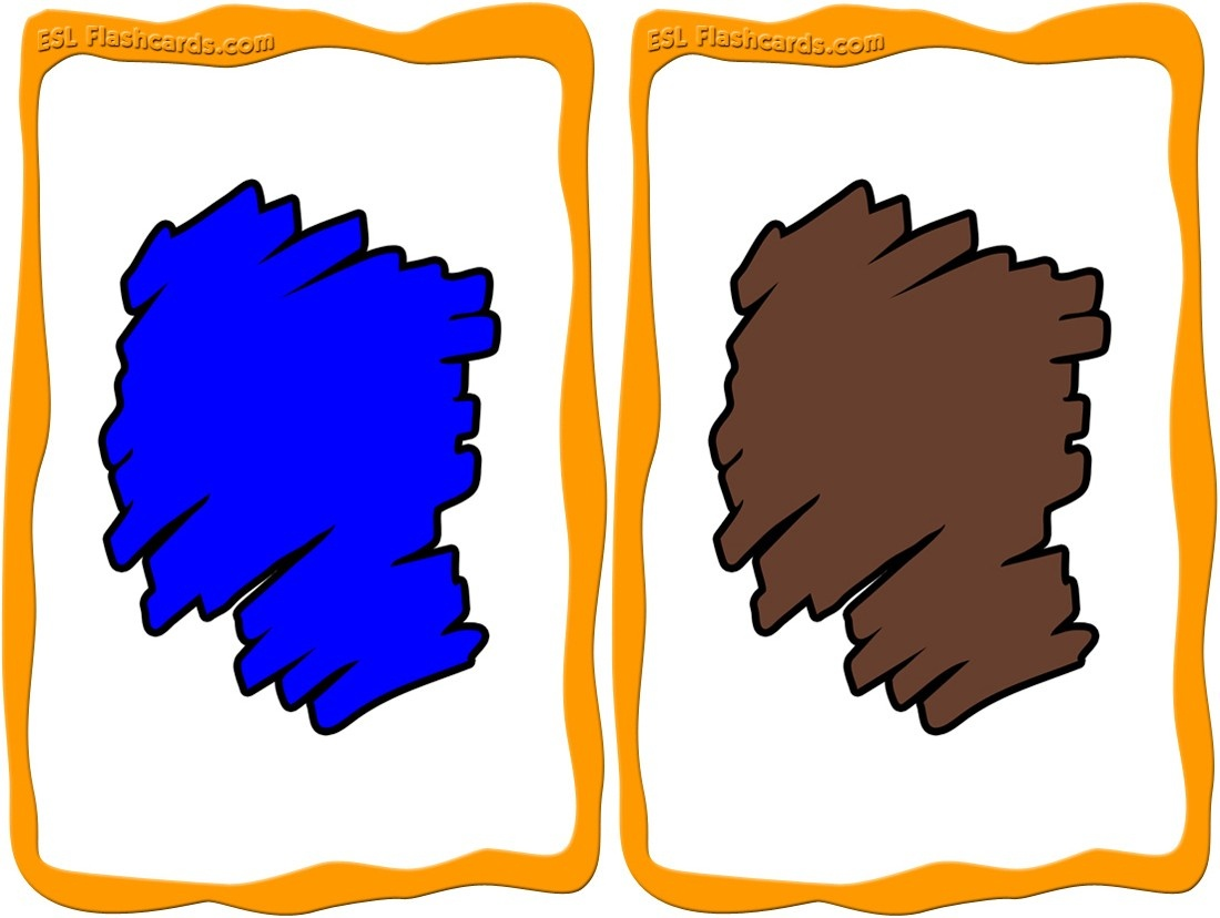 Colors Flashcards - 12 Free Printable Flashcards - Color Flashcards Printable Free