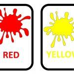 Colours Flashcards Worksheet   Free Esl Printable Worksheets Made   Color Flashcards Printable Free