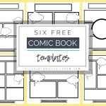Comic Book Templates   Free Printable Pages   The Kitchen Table   Free Printable Memory Book Templates