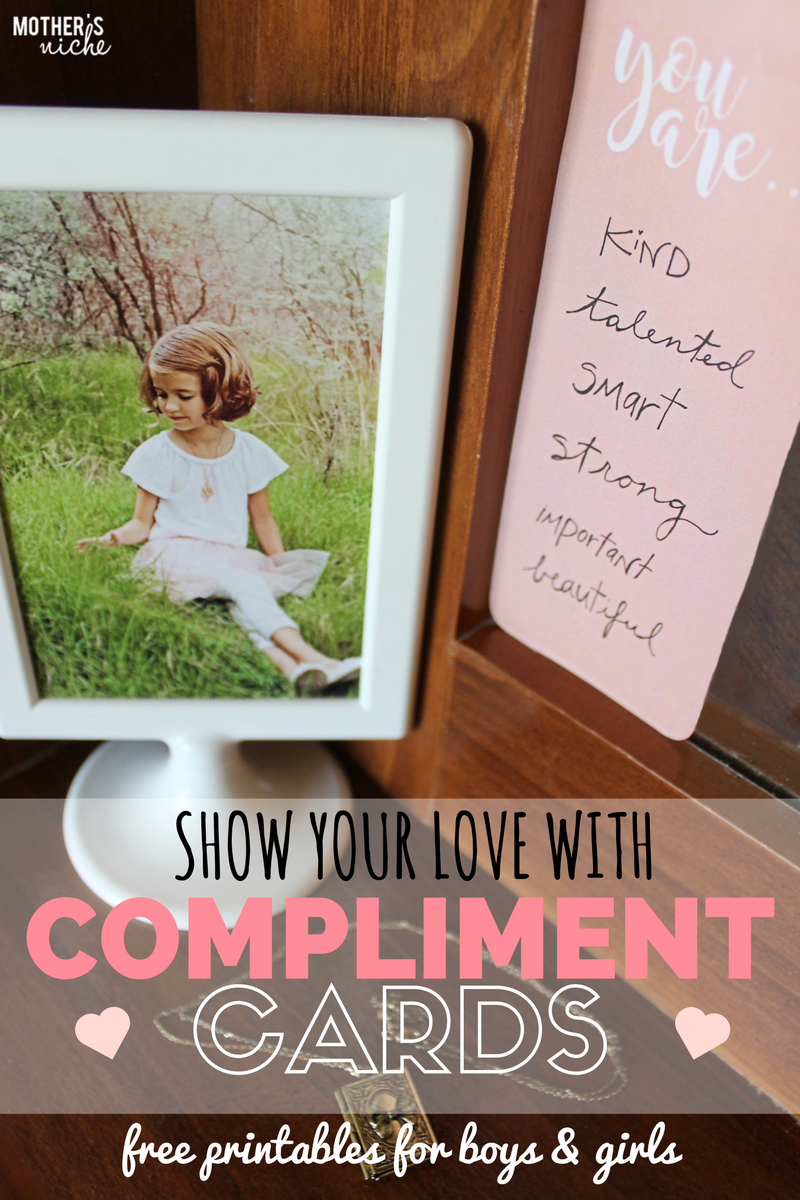 Compliment Cards: Free Printables For Boys And Girls - Free Printable Compliment Cards